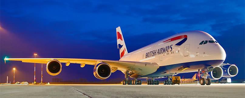 British Airways Flugverspätung und Ausfall